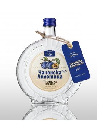Сортова ракия Чачанска Лепотица