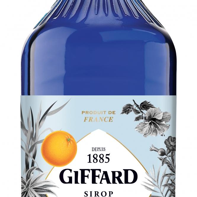 GIFFARD Blue Curacao / Синьо Кюрасо